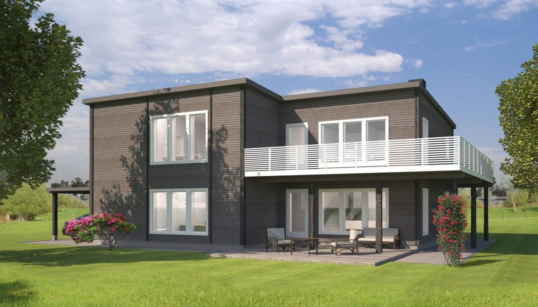 Tipinis vienbučio gyvenamojo namo projektas