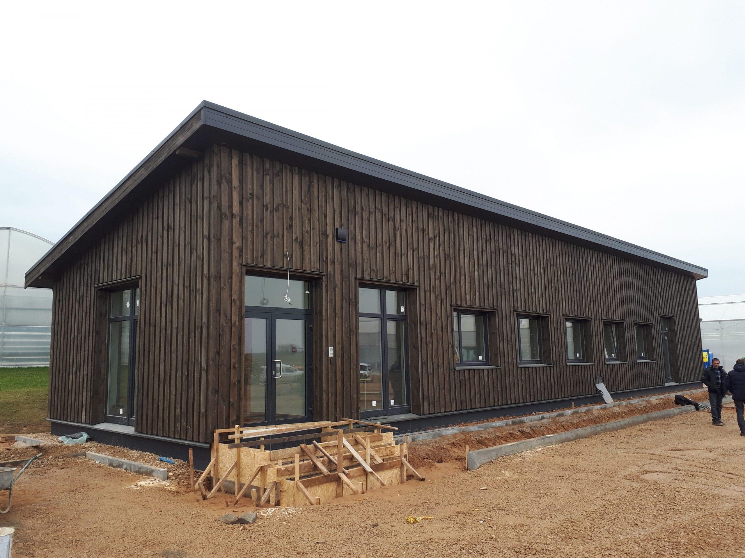 Administracinės paskirties pastato projektas