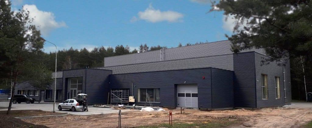 Gamybinio pastato renovacija Vilniuje