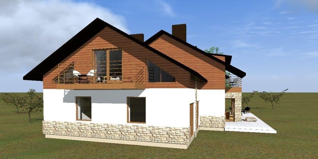 Vienbučio gyvenamjo namo projektas