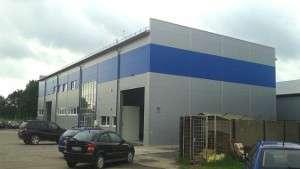 Gamybinių pastatų projektavimas