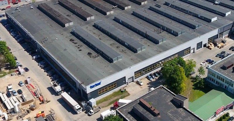 gamybos paskirties pastatas
