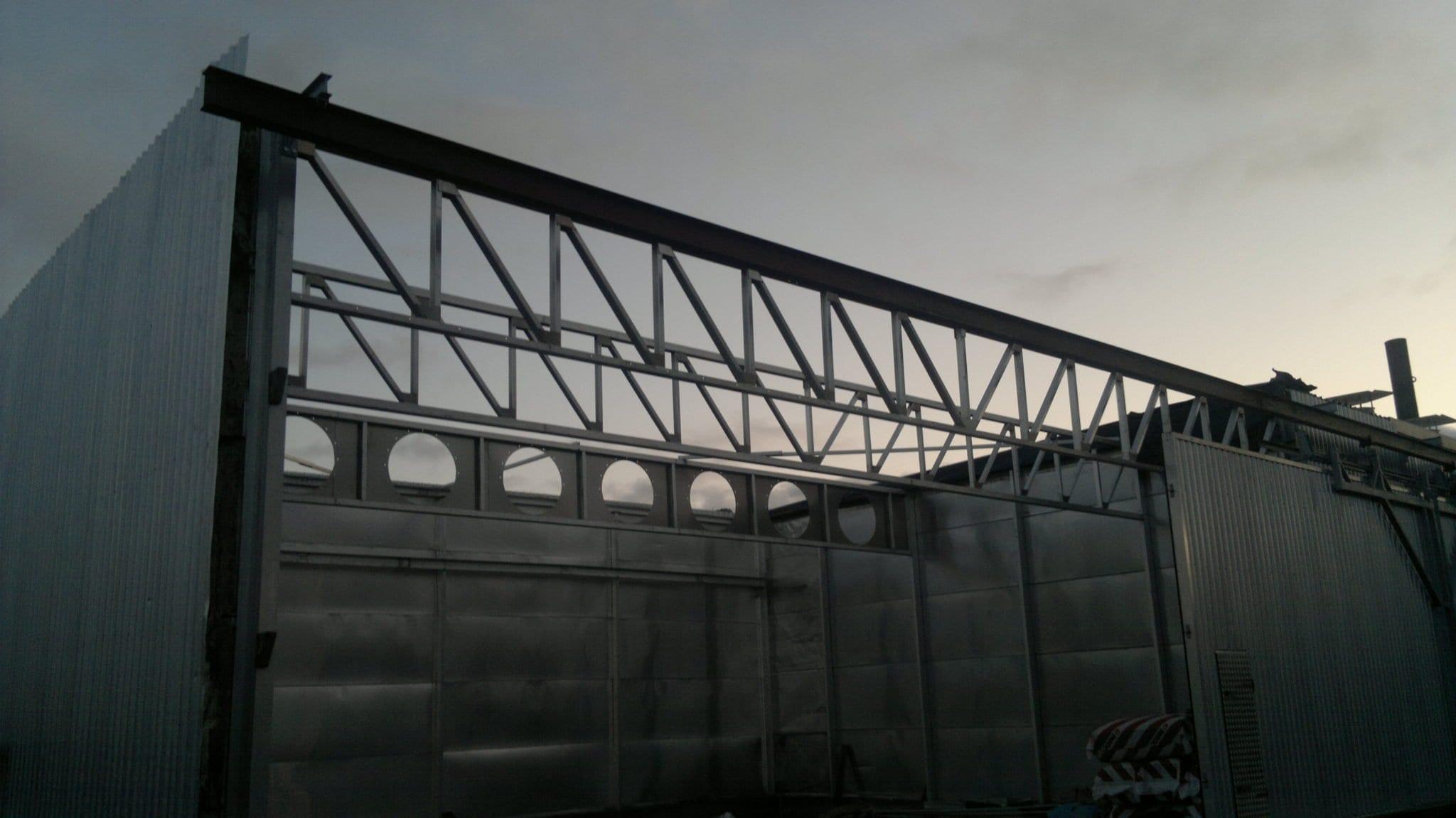 Gamybos pastato projektas