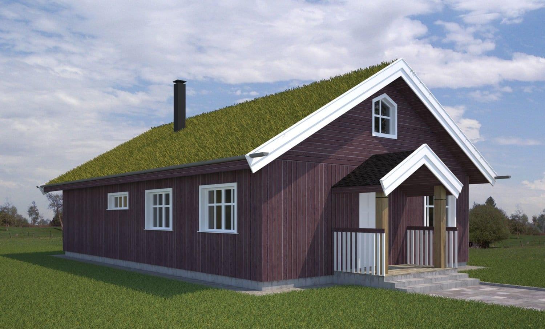 Namų projektai. Gyvenamųjų namų tipiniai projektai.