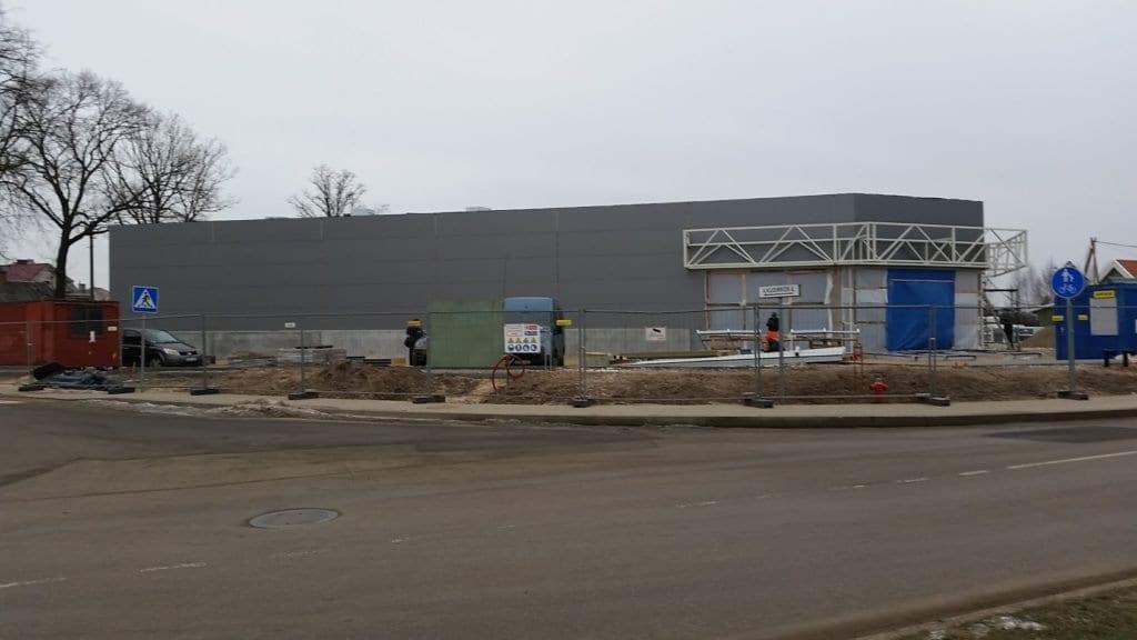 Prekybos paskirties pastato projektas