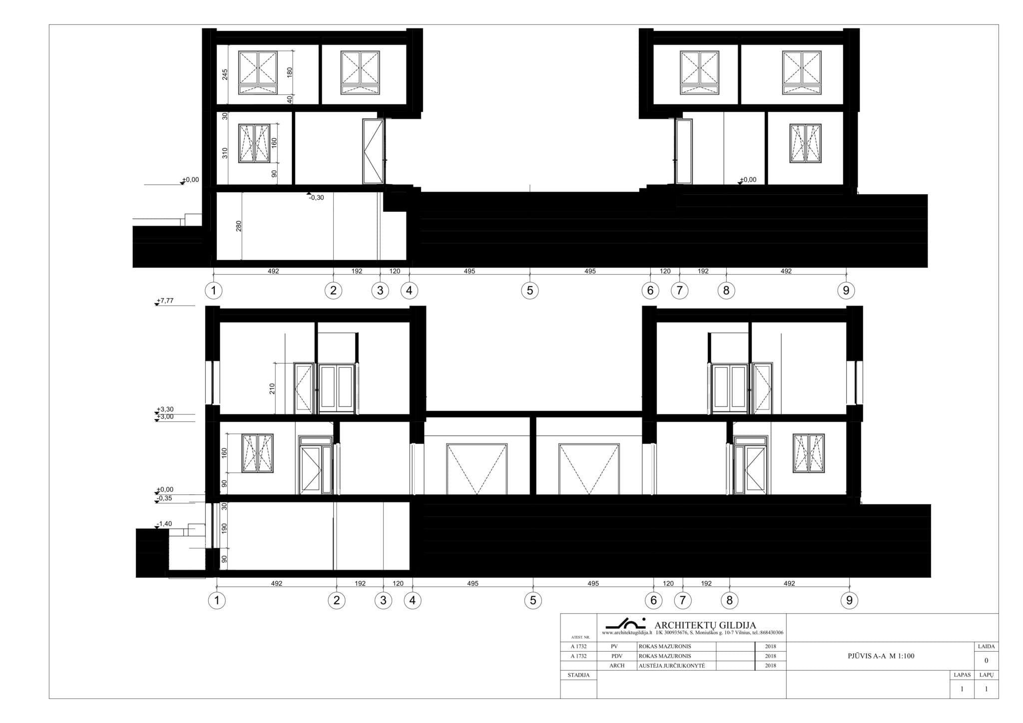 Dvibučio namo projektas