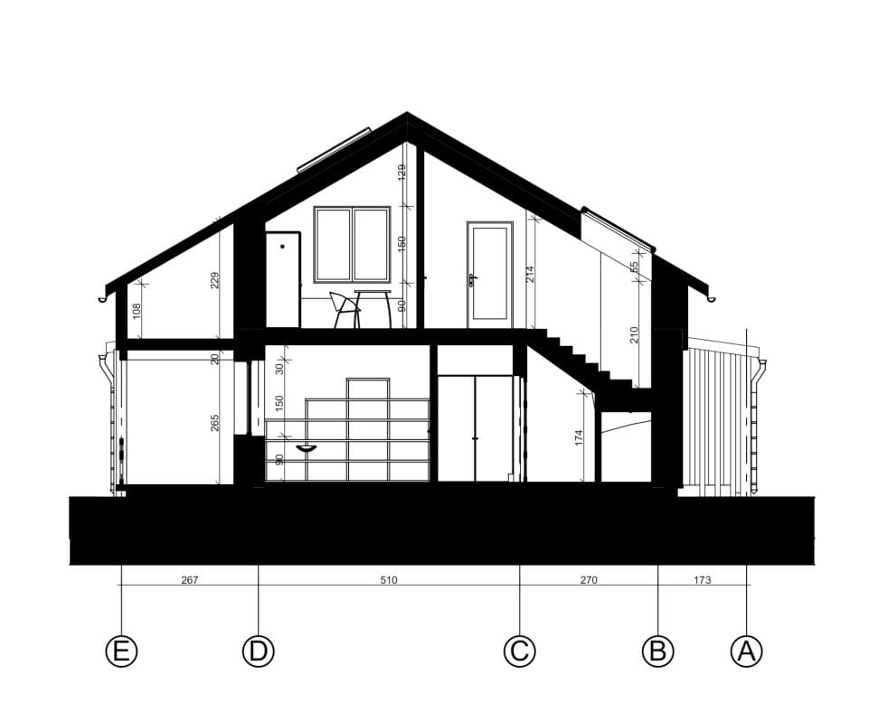 Vienbutis gyvenamasis namas