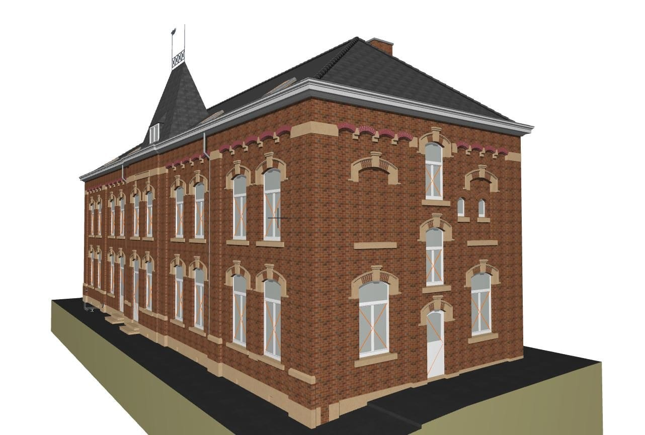 Archicad modelis