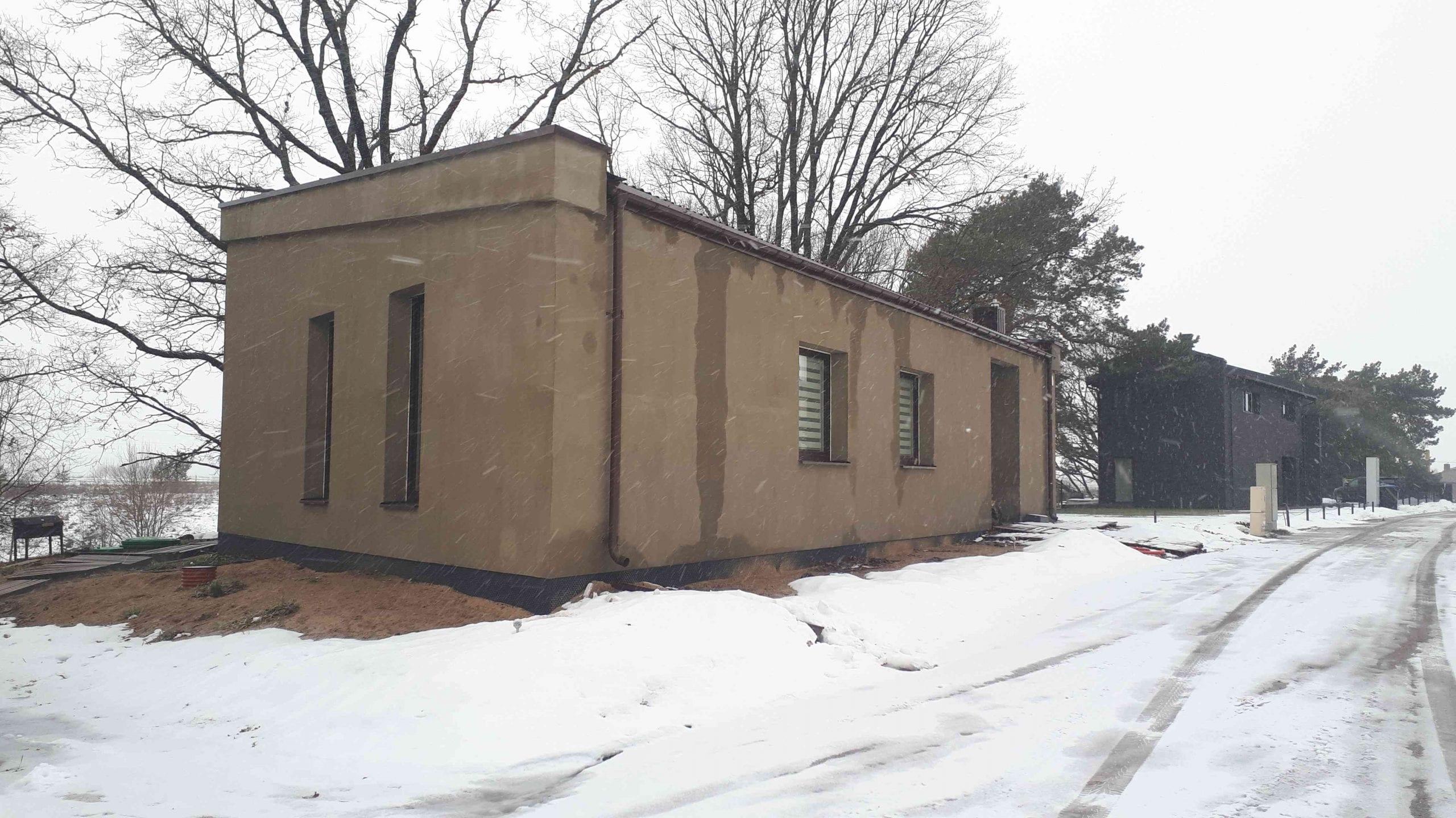 Vienbutis gyvenamas namas