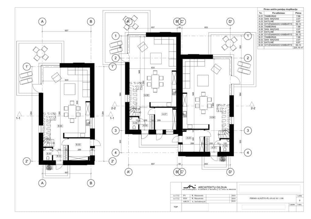 namų kompleksas