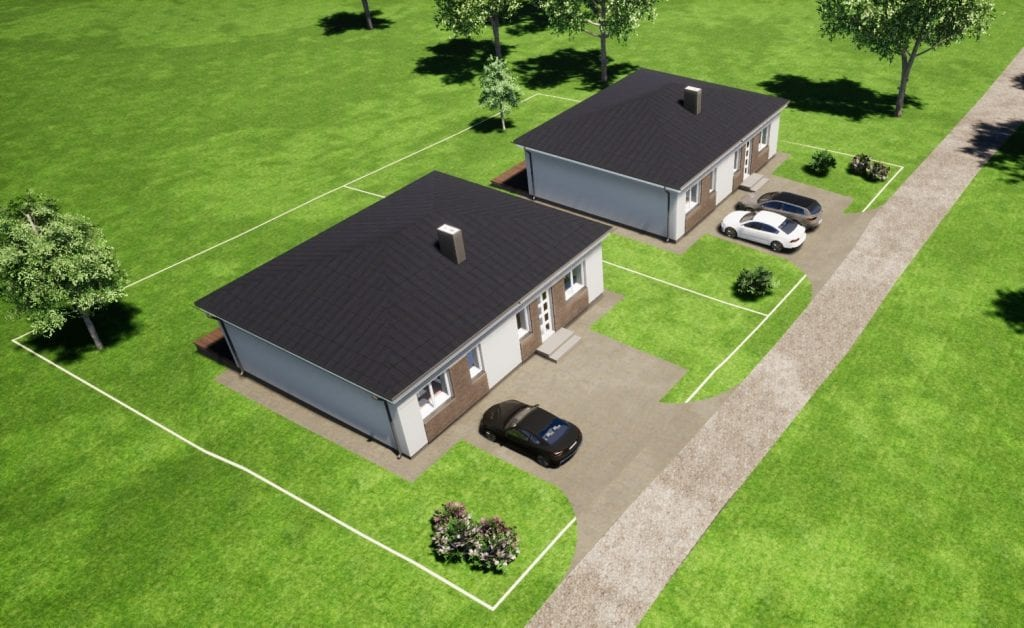 Vieno aukšto namų projektai